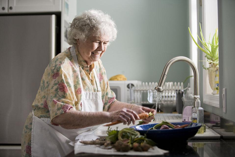 Nutrition chez les seniors et les personnes âgées