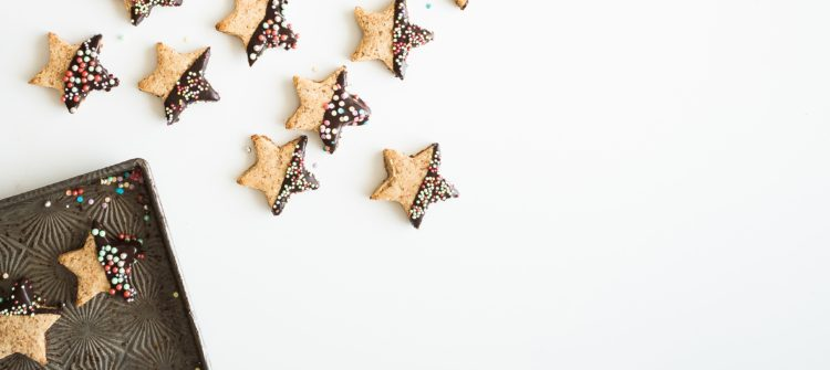 Sablés de Noël à la purée d'amande